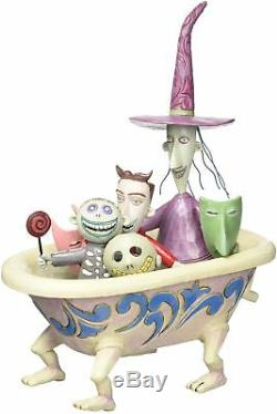 Jim Shore Disney Traditions The Nightmare Before Christmas Lock, Shock, and