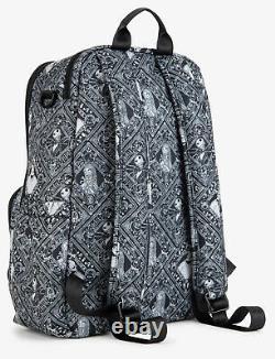 Ju Ju Be Disney X Zealous Backpack Baby Diaper Bag Nightmare Before Christmas