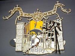LE 500 JUMBO Disney PinNightmare Before Christmas Jack Skellington Sally NBC LE