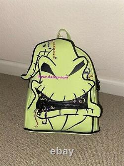 LOUNGEFLY DISNEY OOGIE BOOGIE MINI BACKPACK Glow Bag Nightmare Before Christmas