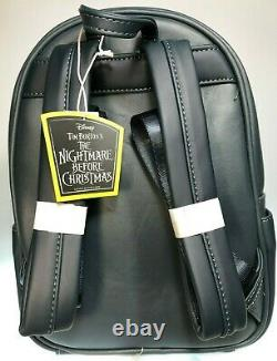 LOUNGEFLY Nightmare Before Christmas GLOW IN THE DARK Backpack NEW! With Tags