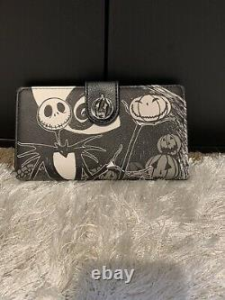 Loungefly Disney Nightmare Before Christmas Mini Backpack & Matching Wallet