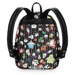Loungefly Disney Resorts Nightmare Before Christmas Chibi MINI Backpack RARE NWT