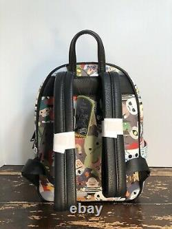 Loungefly Disney The Nightmare Before Christmas Chibi Mini Backpack Bag NWT
