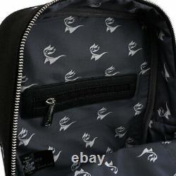 Loungefly Nightmare Before Christmas Jack Heads Canvas Backpack BUNDLE