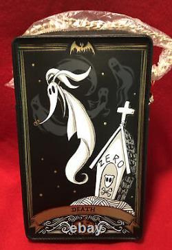 Loungefly X Disney The Nightmare Before Christmas Tarot Cards Box Cross Body Bag