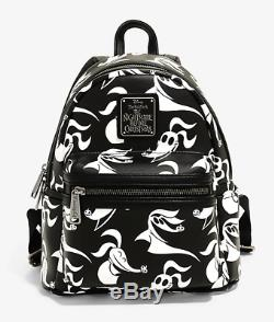 Loungefly ZERO Disney Nightmare Before Christmas Ghost Dog Backpack Bag NWT
