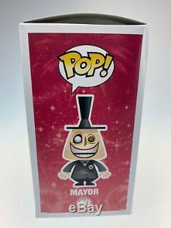Mayor Funko Pop #40 Disney Store Nightmare Before Christmas Retired Vaulted