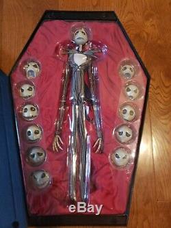 Medicom The Nightmare Before Christmas Jack Skellington 1/1 Figure IMPROVED