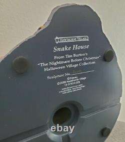 NBC Disney Hawthorne Village The Nightmare Before Christmas Snake House RARE New