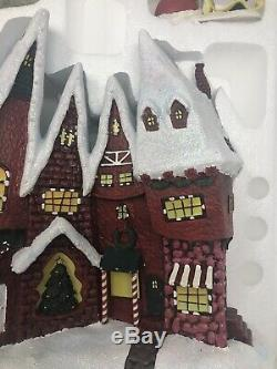 NEW Hawthorne Village Nightmare Before Xmas Town Shops Disney Sandy Claws Burton