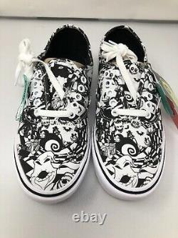 NEW VANS X Authentic Comfycush Nightmare Before Christmas Mens Size 11
