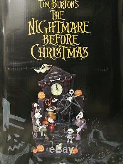 NIGHTMARE BEFORE CHRISTMAS DISNEY MANTLE CLOCK Rare. Brand new sealed in box