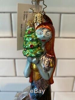 NWT Christopher RADKO Disney Nightmare Before Christmas SALLY Tombstone Ornament