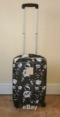 NWT Disney Store THE NIGHTMARE BEFORE CHRISTMAS ROLLING Suitcase Luggage