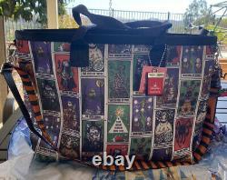 NWT Harveys Seatbelt Bag Nightmare before Christmas Tarot Cards Fortune Tote