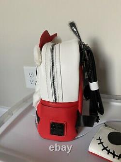 NWT Loungefly Disney Nightmare Before Christmas Santa Jack Backpack + Wallet