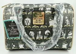NWT Loungefly Disney Nightmare Before Christmas Tarot Card Crossbody Bag Purse