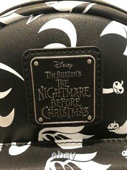 NWT Loungefly Disney Nightmare Before Christmas Zero Mini Backpack and Wallet