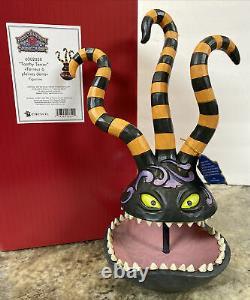 New Jim Shore Disney Nightmare Before Christmas Toothy Terror Demon Trinket Dish
