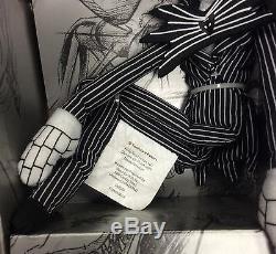 Nightmare Before Christmas 4 doll plush set Jack Skellington Sally Oogie Zero