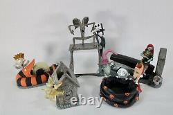 Nightmare Before Christmas 5 pc Desk Set School Office RARE Disney