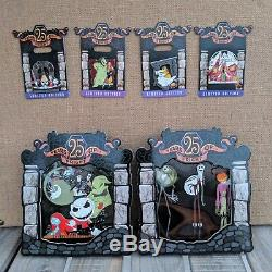 Nightmare Before Christmas 8 Pin Set 2018 Disney 25th Anniversary LE 1500