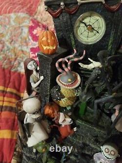 Nightmare Before Christmas Disney Mantle Clock