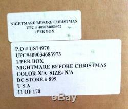 Nightmare Before Christmas Disney Store Framed Pin Set L. E. 11/ 170 Original Box