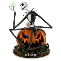 Nightmare Before Christmas Halloween Jack on Pumpkin with Snowflake DISNEYLAND