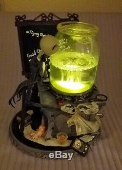 Nightmare Before Christmas JACK SCIENCE PROJECT Musical Collectible LIGHTS UP