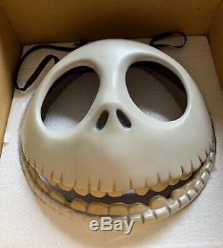 Nightmare Before Christmas JACK SKELLINGTON Porcelain Wall Mask LE 1993