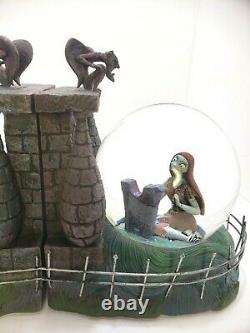 Nightmare Before Christmas Jack & Sally Snowglobe Bookends Snow Globe Book Ends