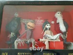 Nightmare Before Christmas Jack Skellington Figurines Millennium Package LE 1200