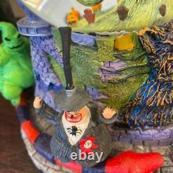 Nightmare Before Christmas Jack Skellington Snow Globe Disney Music Box