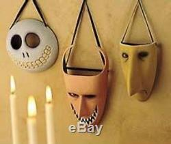 Nightmare Before Christmas Lock Shock And Barrel Disney Wall Masks