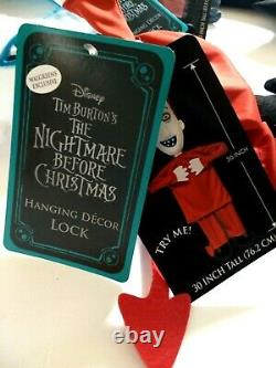 Nightmare Before Christmas Lock Shock Barrel LED Light Up Decor NWT Exclusive