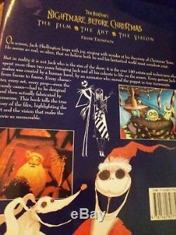 Nightmare Before Christmas Lot 2001 Convention Special Jack, Sally, Movie, Book
