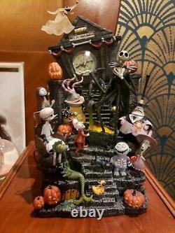 Nightmare Before Christmas Mantle Clock