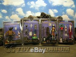 Nightmare Before Christmas Movie Accurate Figures Series #3 FOUR Figure Set