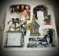 Nightmare Before Christmas NMBC COMPLETE Desk Set Staple Tape Note Holders + MIB