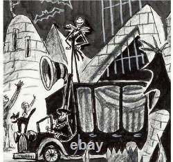 Nightmare Before Christmas Original Art Storyboard Jorgen klubien Jacks Back