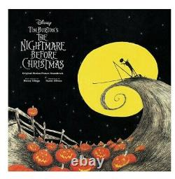 Nightmare Before Christmas Original Soundtrack 2XLP Vinyl Mondo Burton Disney