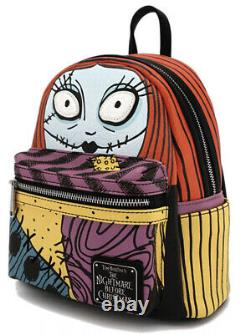 Nightmare Before Christmas Sally Cosplay Face Loungefly Mini Backpack SOLD OUT