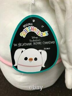 Nightmare Before Christmas Squishmallows Zero Jack Sally Oogie Boogie LOT of 8