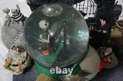 Nightmare before Christmas Snowglobe Large size Very rare 1993 disney store