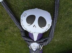 RARE! Inflatable Disney Nightmare Before Christmas 12' Jack Skellington Skeleton