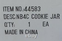 RETIRED Disney Store Nightmare Before Xmas Jack Skellington Head Cookie Jar NEW