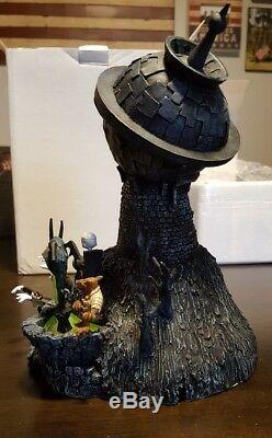 Rare Disney Nightmare Before Christmas Dr. Finkelstein Lab Light Up Sculpture36