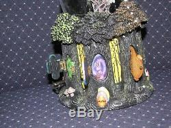 Rare Disney Nightmare Before Christmas Happy Everything Snow Globe in box